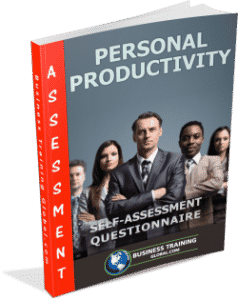 photo of booklet-Personal Productivity Self Assessment