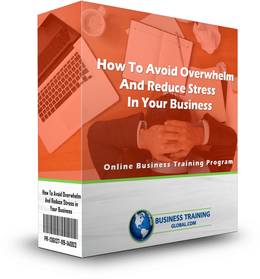 photo of program ware box-How to Avoid Overwhelm and Reduce Stress in Your Business Online Training Program