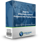 photo of program ware box-how to effectively convert prospects into paying clients online training program