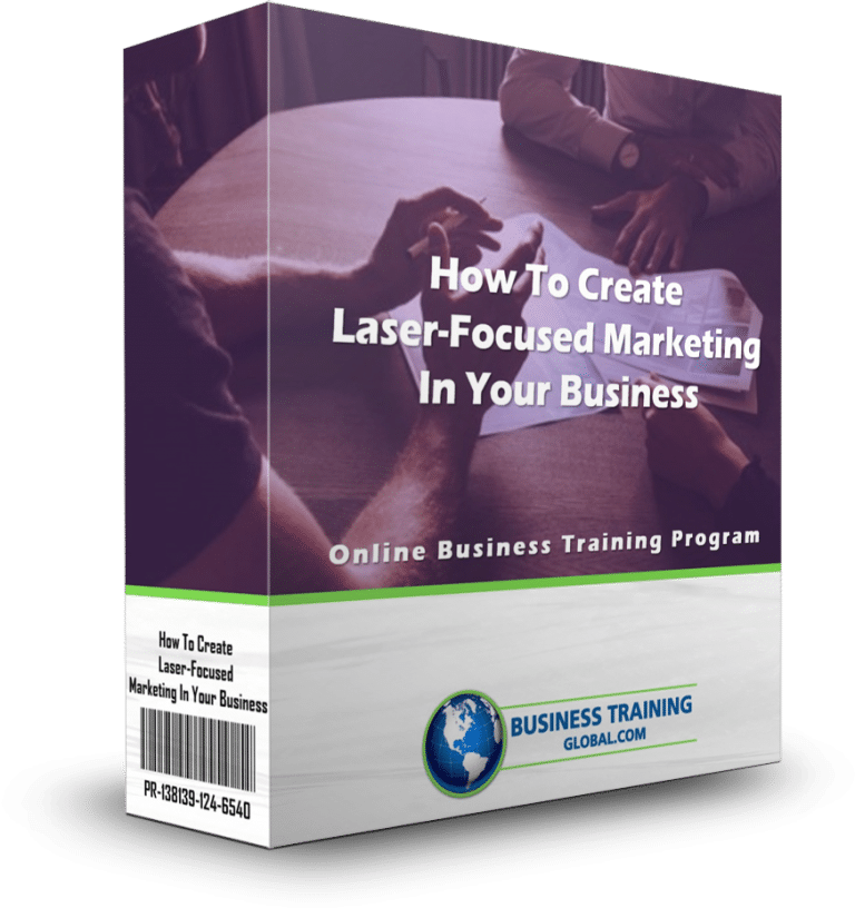 photo of program ware box-How to Create Laser-Focused Marketing in Your Business Online Training Program