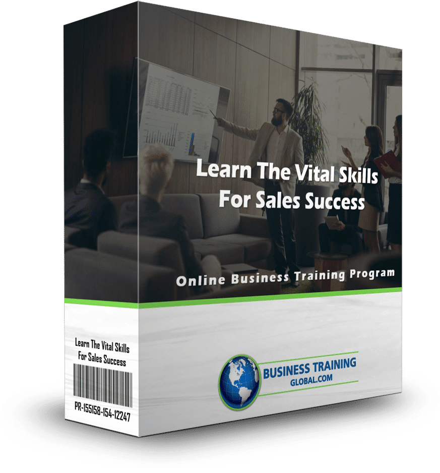 photo of program ware box-learn the vital skills for sales success online training program