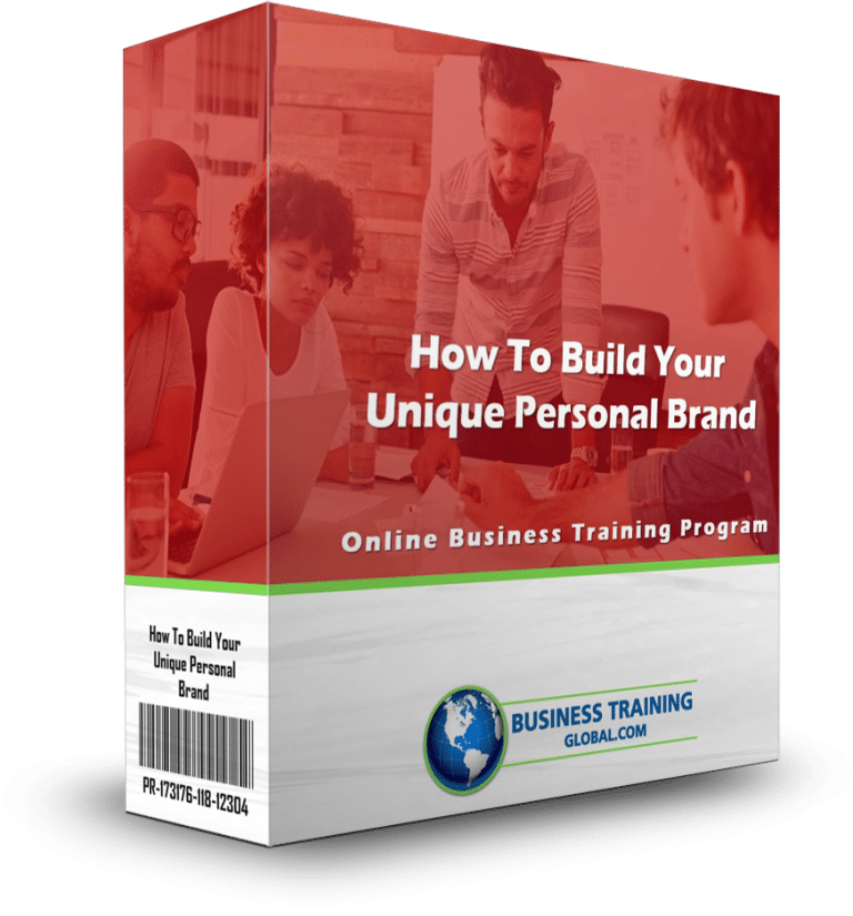 photo of program ware box for How to Build Your Unique Personal Brand Online Training Program
