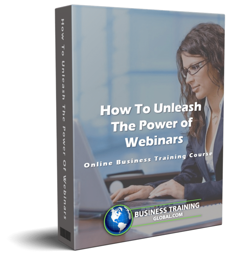 photo of courseware box-How to Unleash the Power of Webinars Online Course