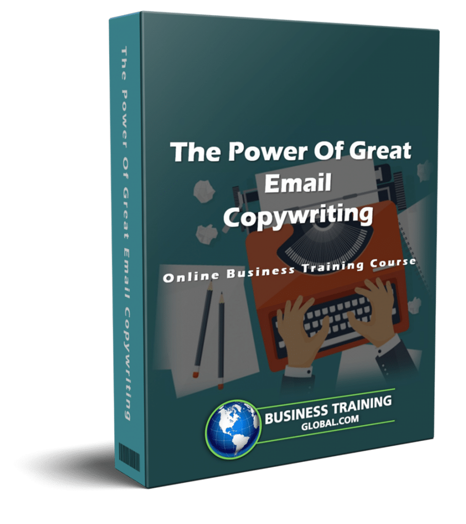 photo of courseware box-The Power of Great Email Copywriting Online Course