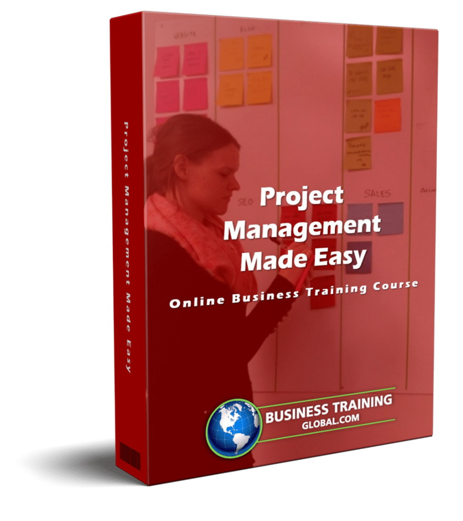 photo of courseware box-Project Management Mad Easy Online Course