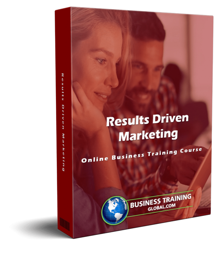 photo of courseware box-Results Driven Marketing Online Course