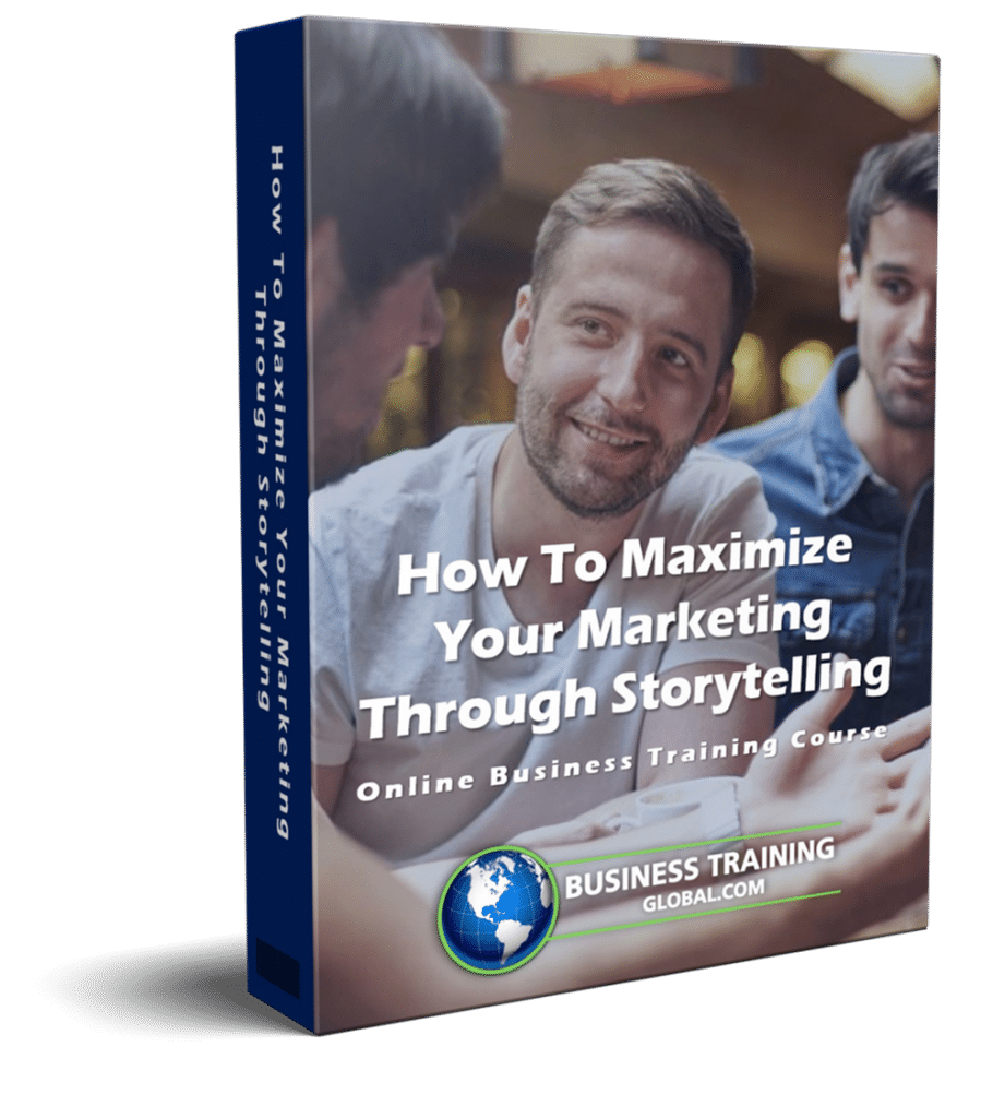 photo of courseware box-How to Maximize Your Marketing through Storytelling Online Course