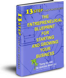 photo of book-13 step plan for success-the entrepreneurial blueprint for starting and growing your business