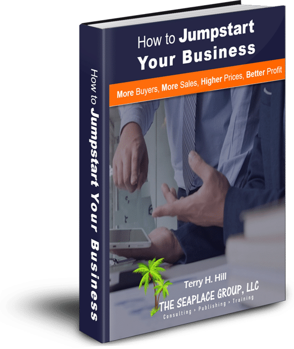 photo of book-how to jumpstart your business