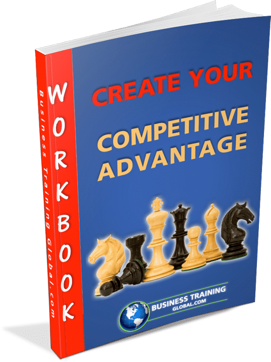Photo of the workbook create your competitive advantage