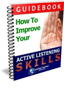 photo of booklet-How to Improve Your Active Listening Skills