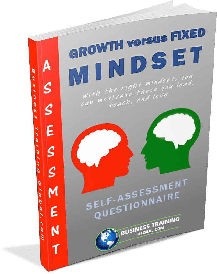 Photo of Self-Assessment Growth versus Fixed Mindset from Business Training Global.com