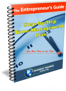 Photo of GUIDEBOOK-Step-by-Step Time Management Plan from Business Training Global.com