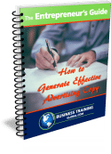 Photo of The Entrepreneur's Guidebook on how to generate effective advertising copy