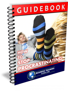 photo of booklet-GUIDEBOOK: How to Stop Procrastinating