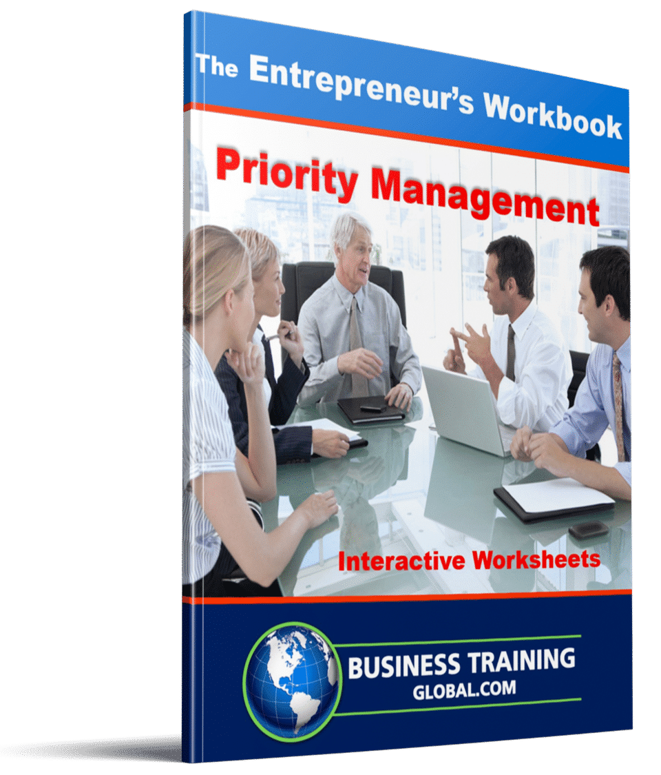 photo of workbook-Priority Management