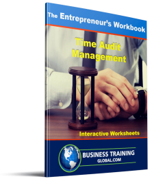 Photo of Workbook - Time Audit Management from Business Training Global.com