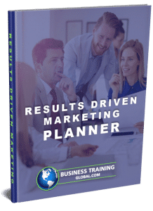 photo of workbook-Results Driven Marketing Planner