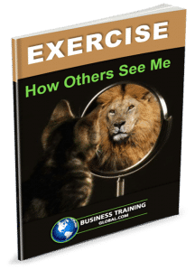 photo of workbook-how others see me exercise