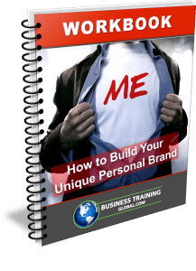 photo of workbook-how to build your Unique Personal Brand