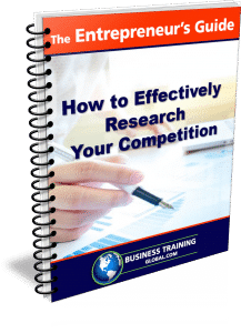photo of the entrepreneurs guidebook for how to effectively research your competition