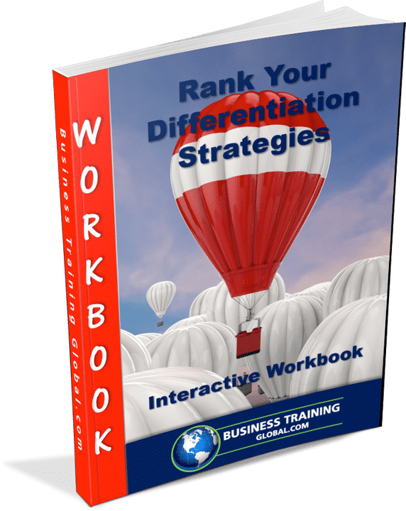 photo of workbook-Rank Your Differentiation Strategy