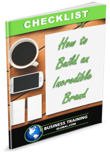 photo of checklist for how to build an incredible brand