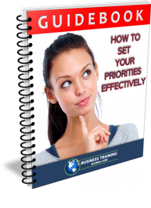 photo of booklet-How to Set Your Priorities Effectively