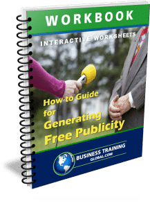 photo of workbook-How to Generate Free Publicity for Your Business and Yourself