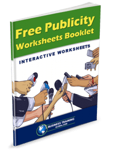 photo of booklet-Free Publicity Worksheets Booklet