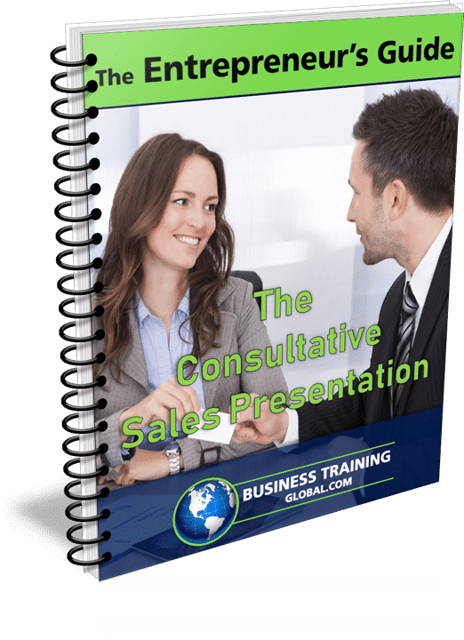 Photo of The Entrepreneur's Guidebook on the consultative sales presentation