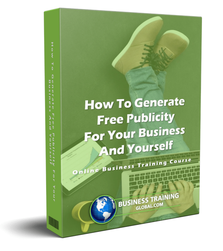 photo of courseware box-How to Generate Free Publicity for Your Business and Yourself Online Course