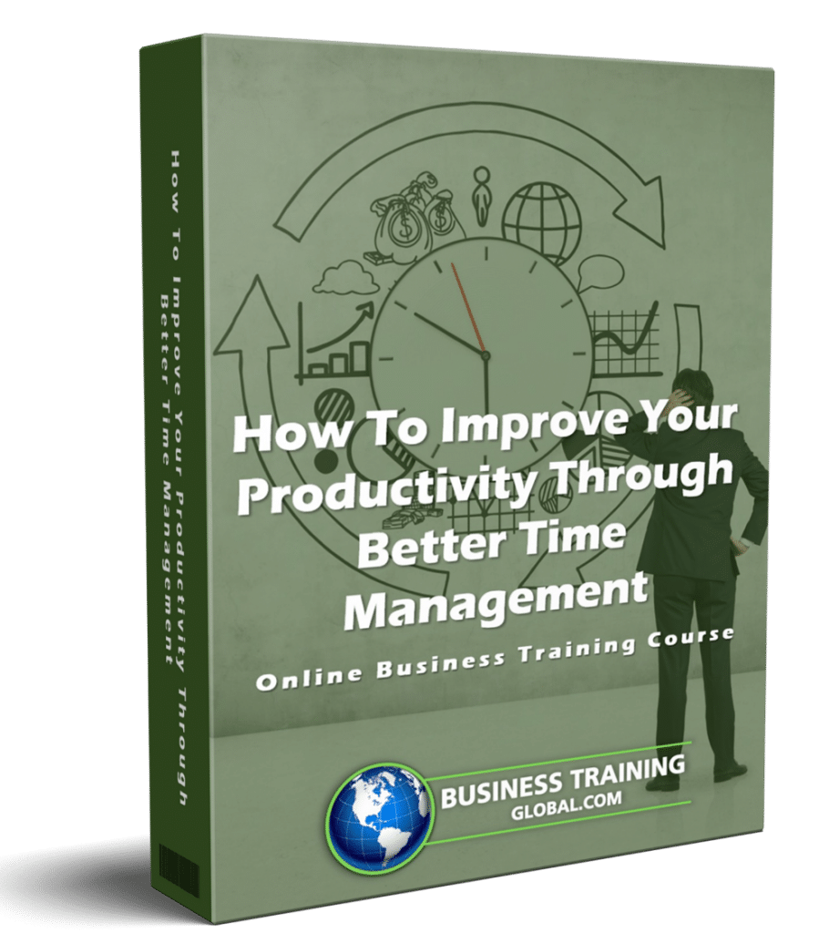 photo of courseware box-How to Improve Your Productivity through Better Time Management Online Course