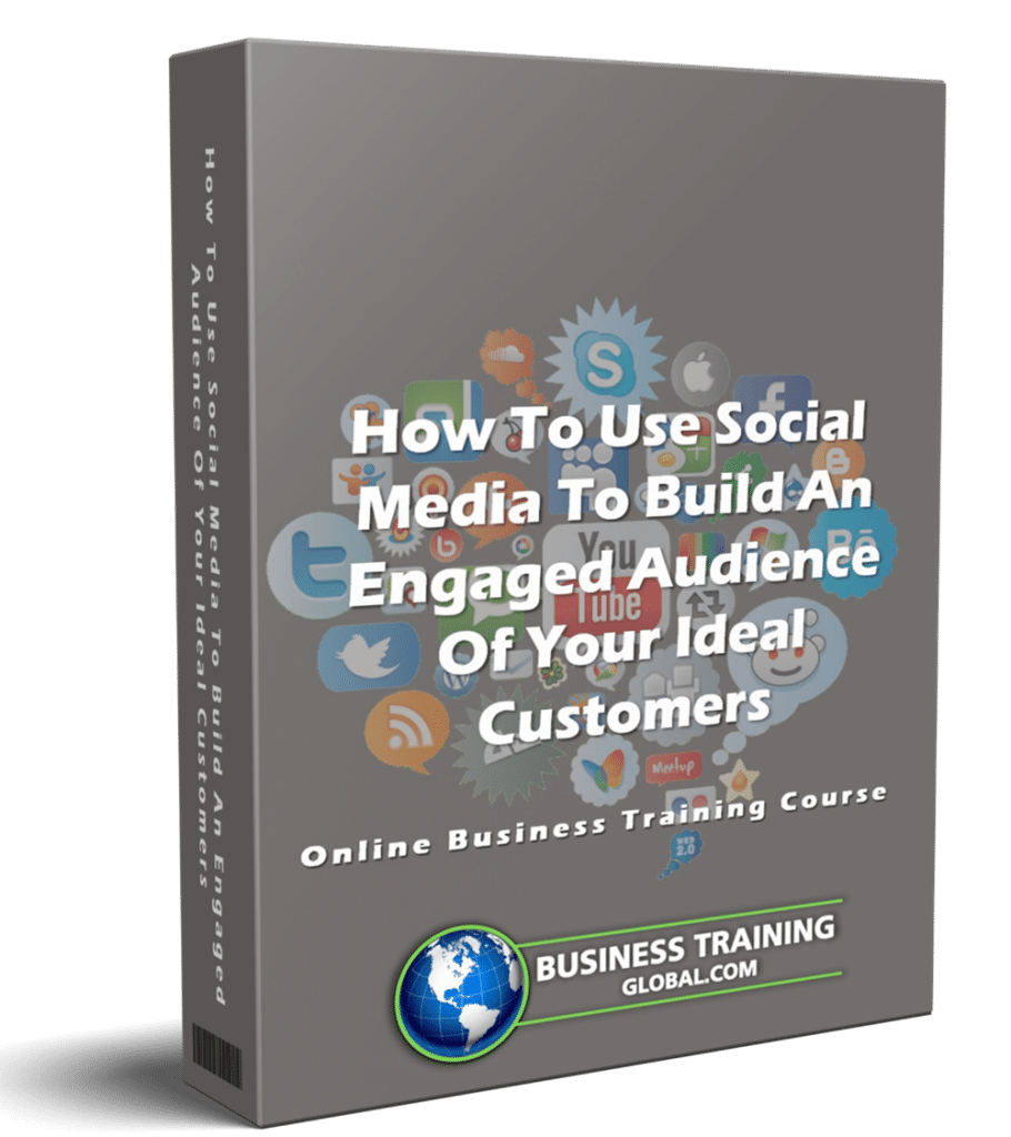 photo of courseware box-How to Use Social Media to Build an Engaged Audience of Your Ideal Customers Online Course