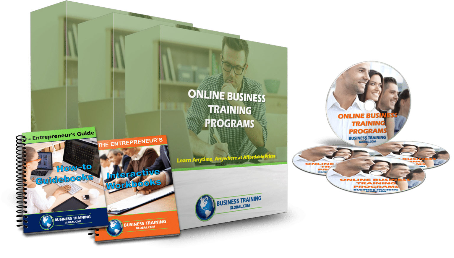 photo of collage of Online-Business-Training-Programs