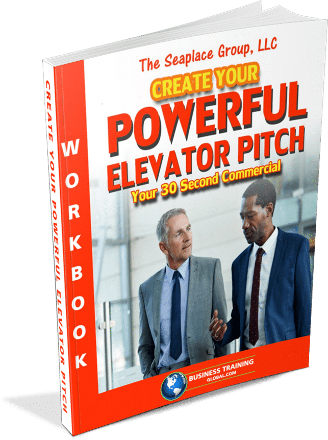photo of workbook for How to Create a Powerful Elevator Pitch