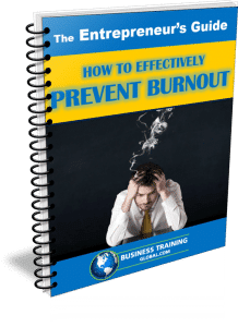 Photo of Guidebook- How to Effectively Prevent Burnout from Business Training Global.com
