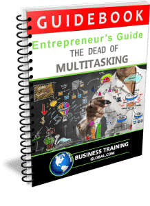 Photo of Guidebook- The Dead of Multitasking from Business Training Global.com