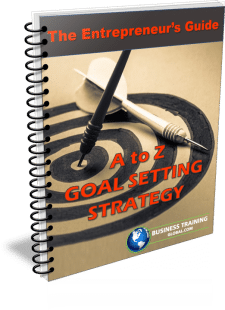 Photo of Guidebook- A to Z Goal Setting Strategy from Business Training Global.com