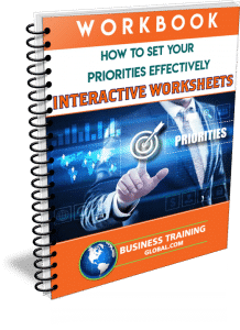 Photo of Workbook- How to Set Your Priorities Effectively from Business Training Global.com