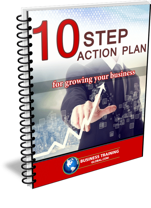 Photo of the 10 Step Action Guidebook for Growing Your Business