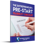Photo of The Entrepreneur's Pre-Start Feasibility Checklist from Business Training Global.com