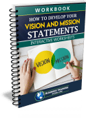 Photo of Workbook- How to Develop Your Vision and Mission Statements from Business Training Global.com