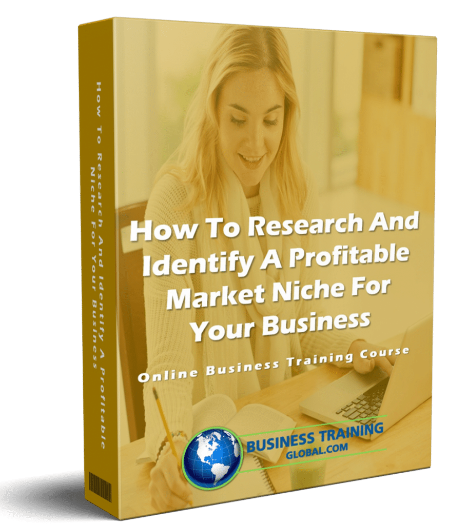 photo of courseware box-How to Research and Identify a Profitable Market Niche