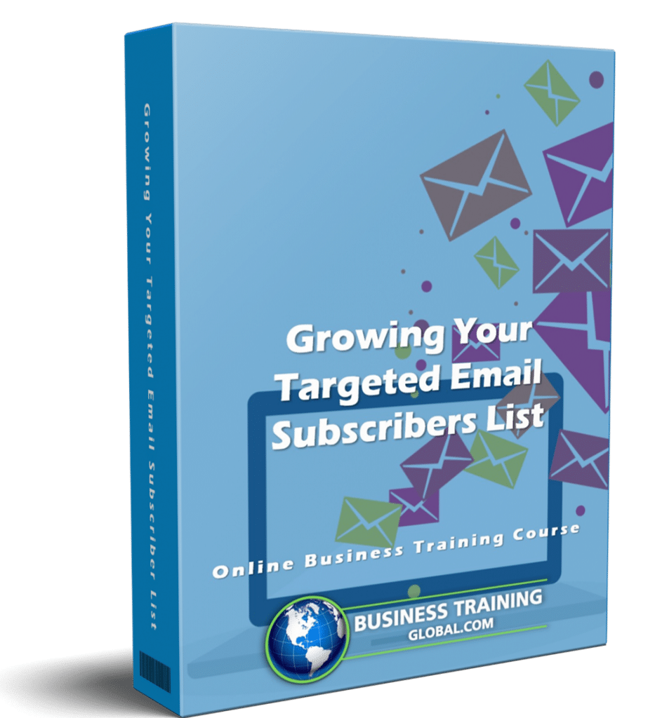 photo of courseware box-Growing Your Targeted Email Subscribers List