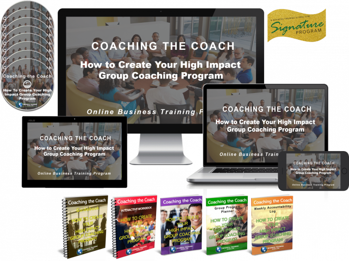 Photo Collage of Program-How to Create Your High Impact Group Coaching Program