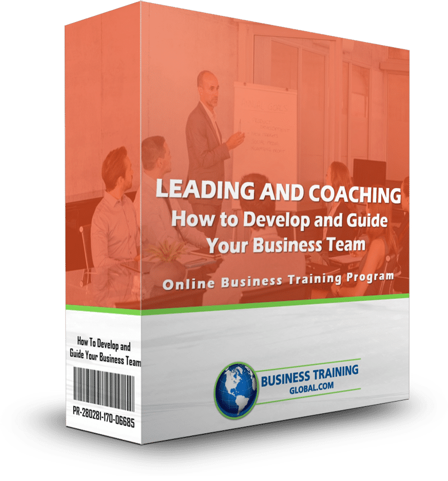 photo of software box for Leading and Coaching-How to Develop and Guide Your Business Team