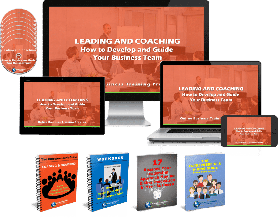 Image of Program Collage-Leading and Coaching-How to Develop and Guide Your Business Team