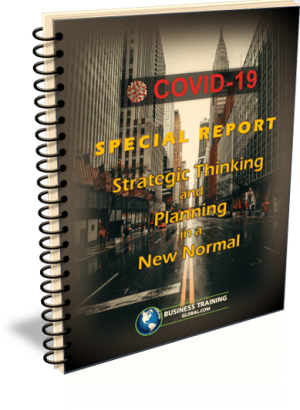 Photo Cover-COVID-19-Special Report- Strategic Thinking and Planning