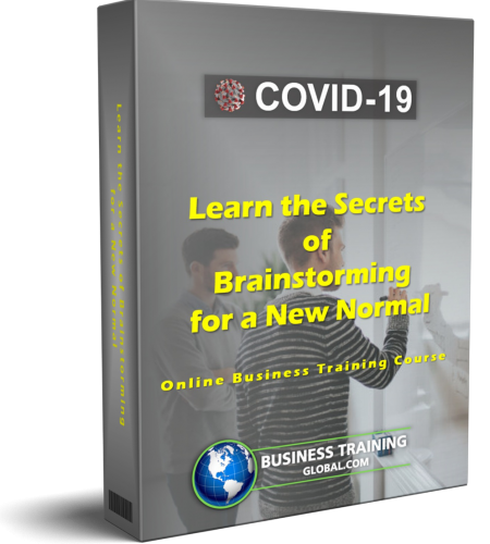 312, 3d-Course Box-COVID-19-Learn the Secrets of Brainstorming for a New Normal